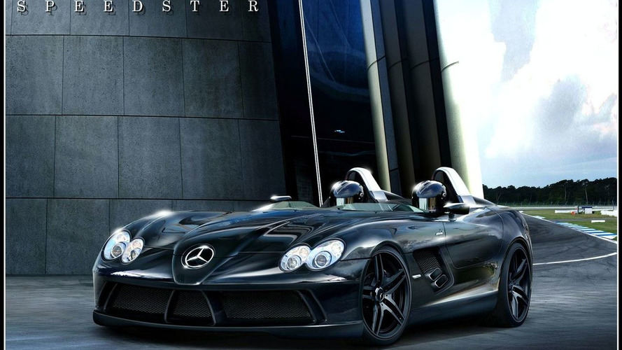 Rendered: Mercedes SLR Speedster