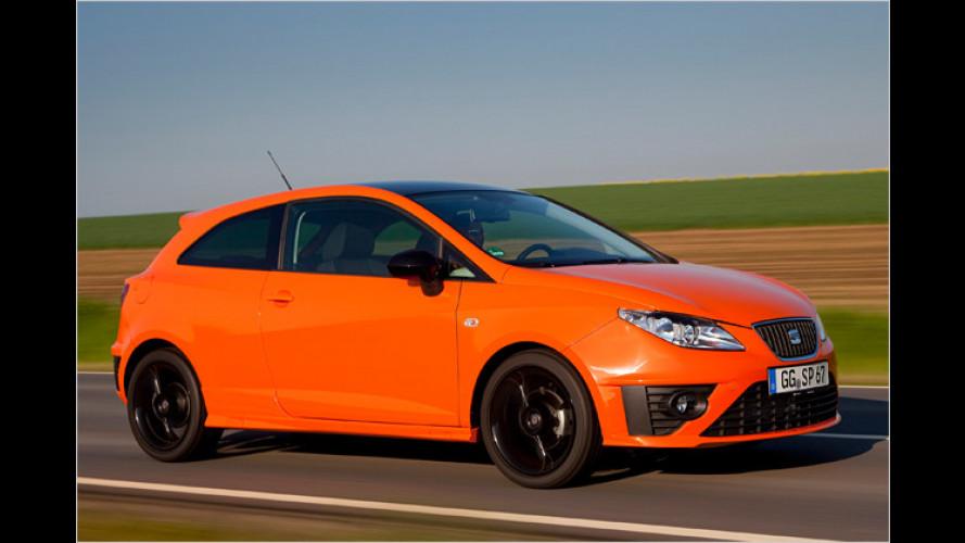 Knalliges Sondermodell: Der Seat Ibiza SC ,Sport Limited