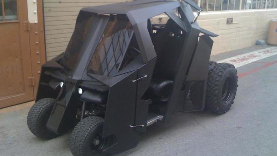17,500 USD Batman Tumbler golf cart sold on eBay