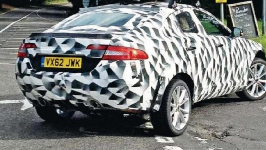 Jaguar XQ mule spied ahead of a concept reveal at IAA