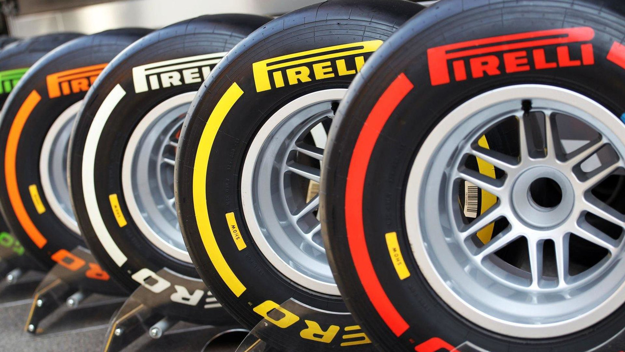 Pirelli tyres on show 17.07.2013 Formula One Young Drivers Test, Silverstone, England