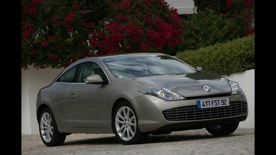 Renault Laguna Coupè arriva in Italia