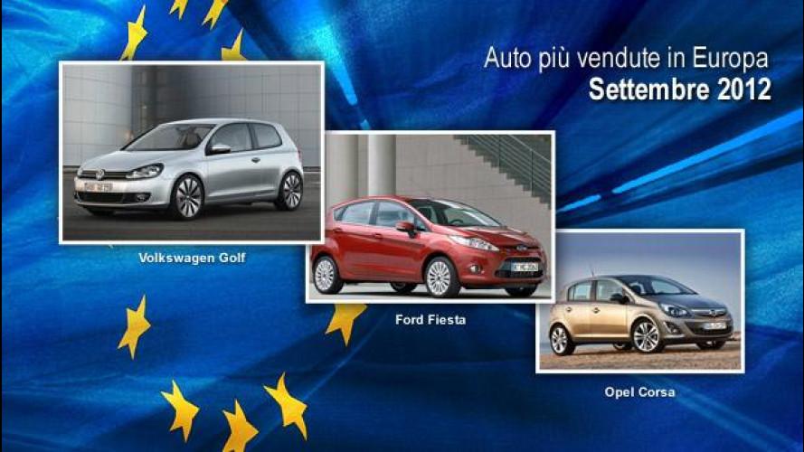 Volkswagen Golf si conferma leader di vendite in Europa