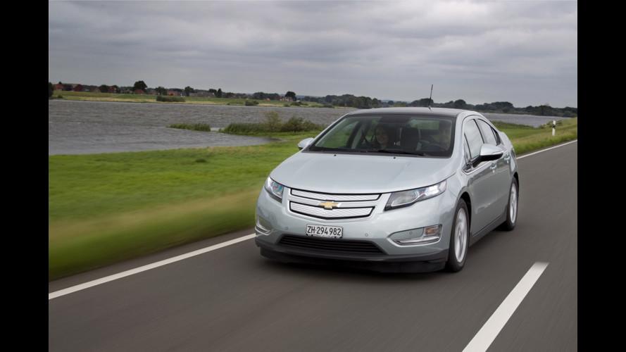 La Chevrolet Volt si prova in concessionaria
