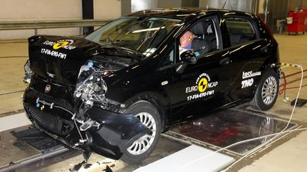 Zero stars for Fiat Punto in Euro NCAP first