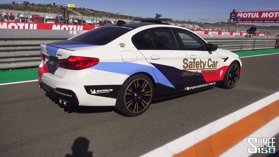 Get Up Close And Personal With The BMW M5 MotoGP Safety Car