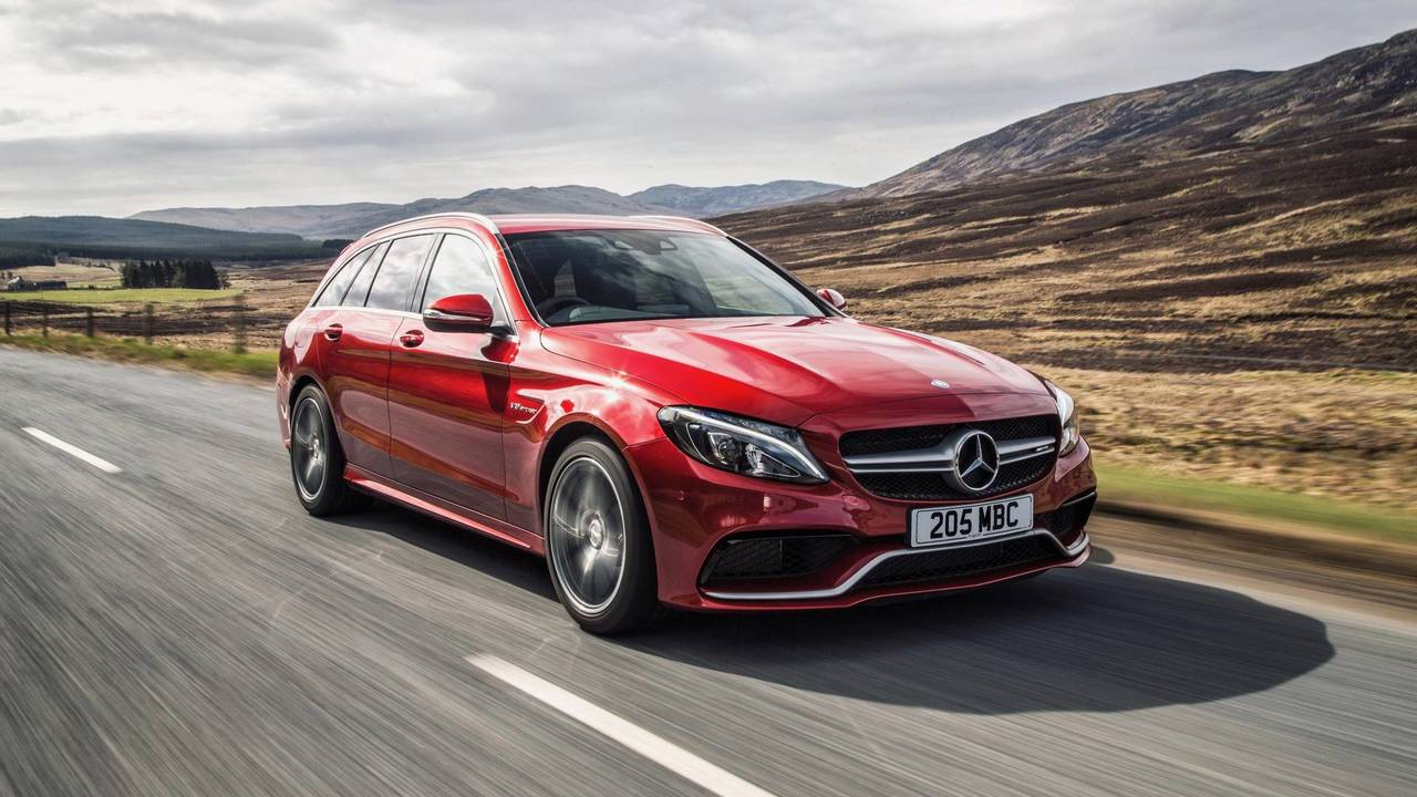 6. Mercedes-AMG C 63 S Break : 4,1 secondes