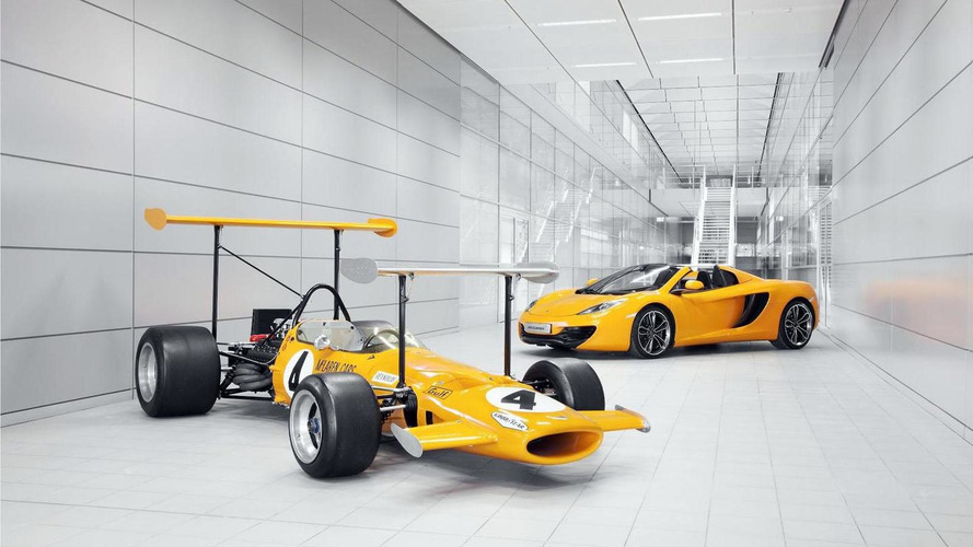 McLaren preparing to celebrate their 50th anniversary