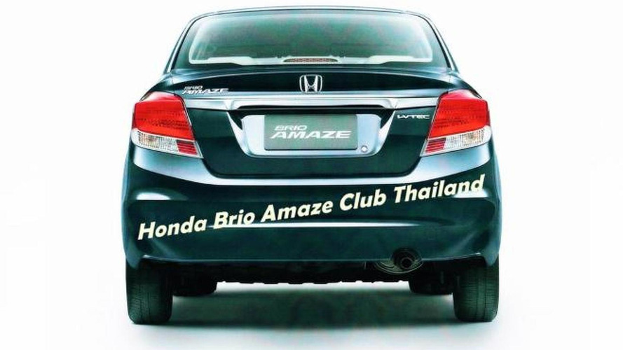 Honda Brio Amaze leaks out early