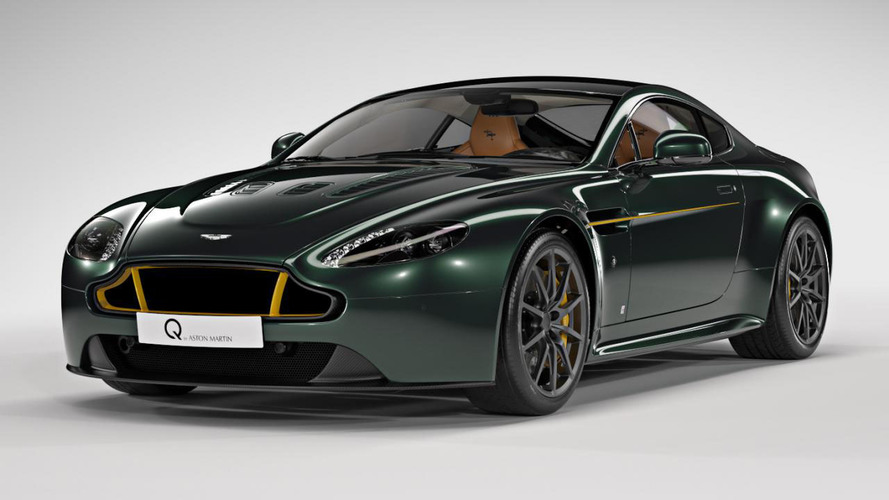 Aston Martin V12 Vantage S Spitfire 80 : l'aviation britannique mise à l'honneur