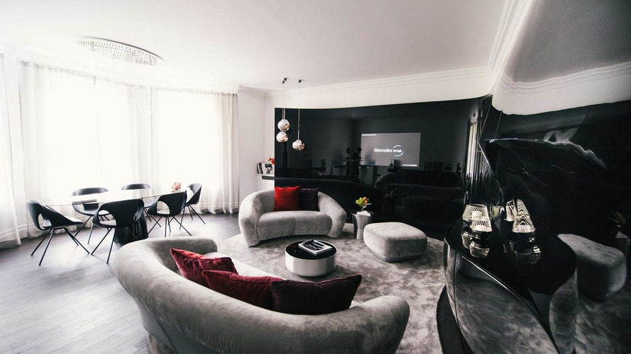 Mercedes unveils luxury apartments in London