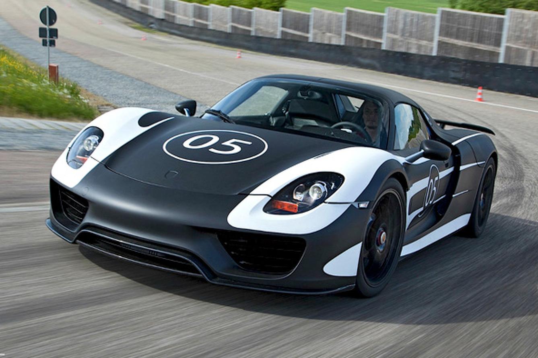 Jaw Dropper: Porsche 918 Spyder Prototype