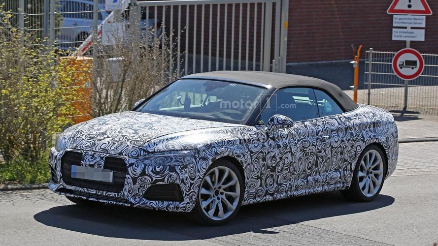 Audi S5 Cabrio spy photos