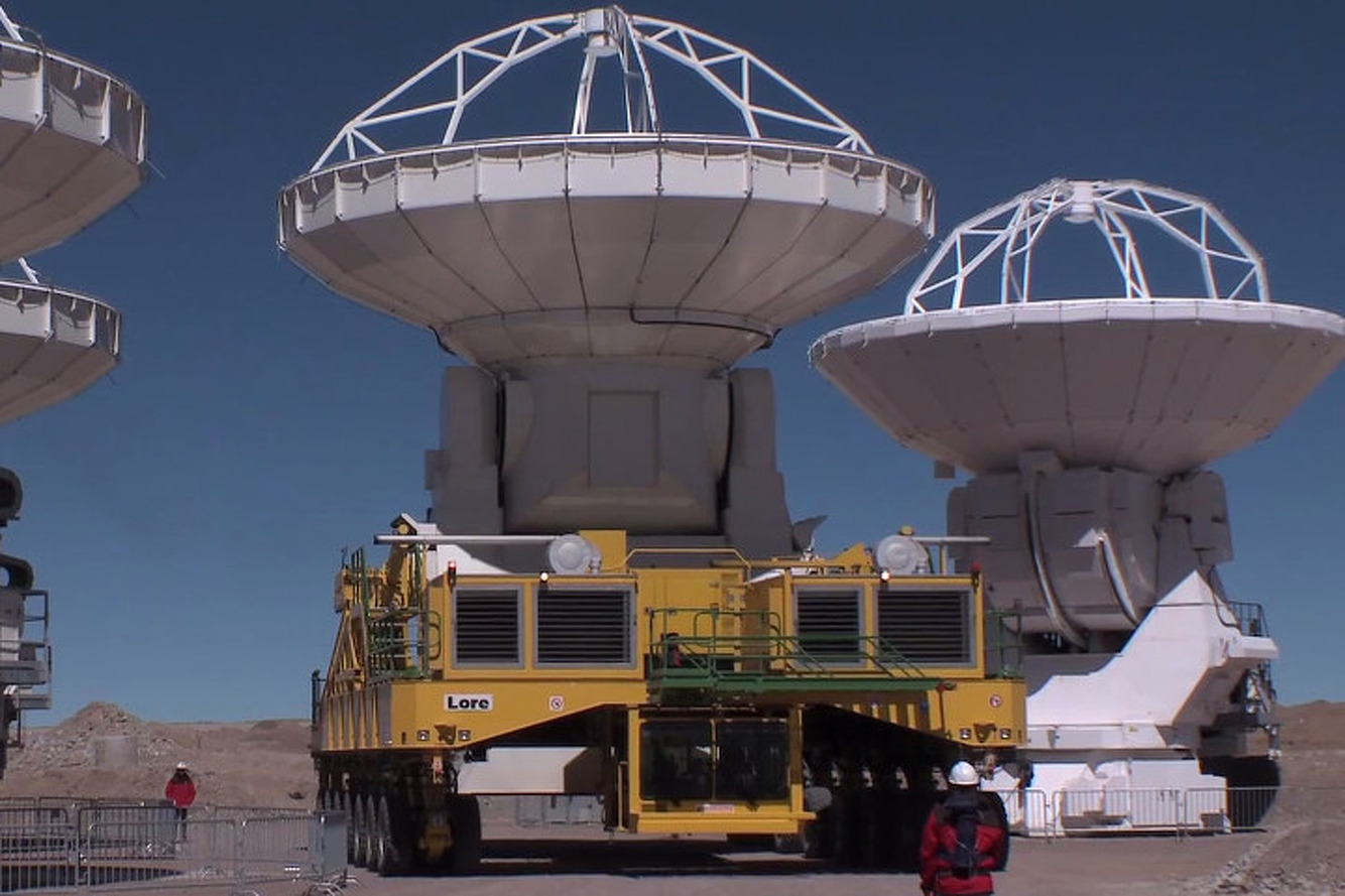 Meet the Massive Machines that Build the World's Newest Telescope