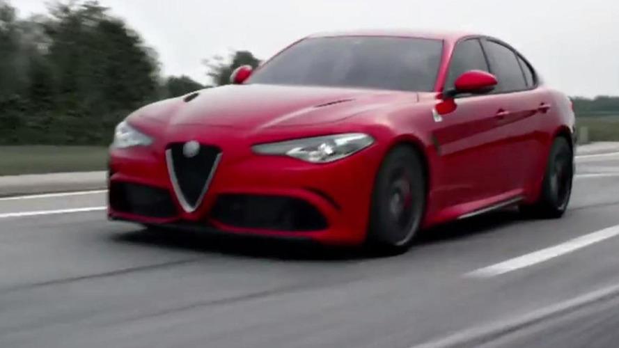 Alfa Romeo Giulia QV roars its 510 PS bi-turbo V6 engine [video]