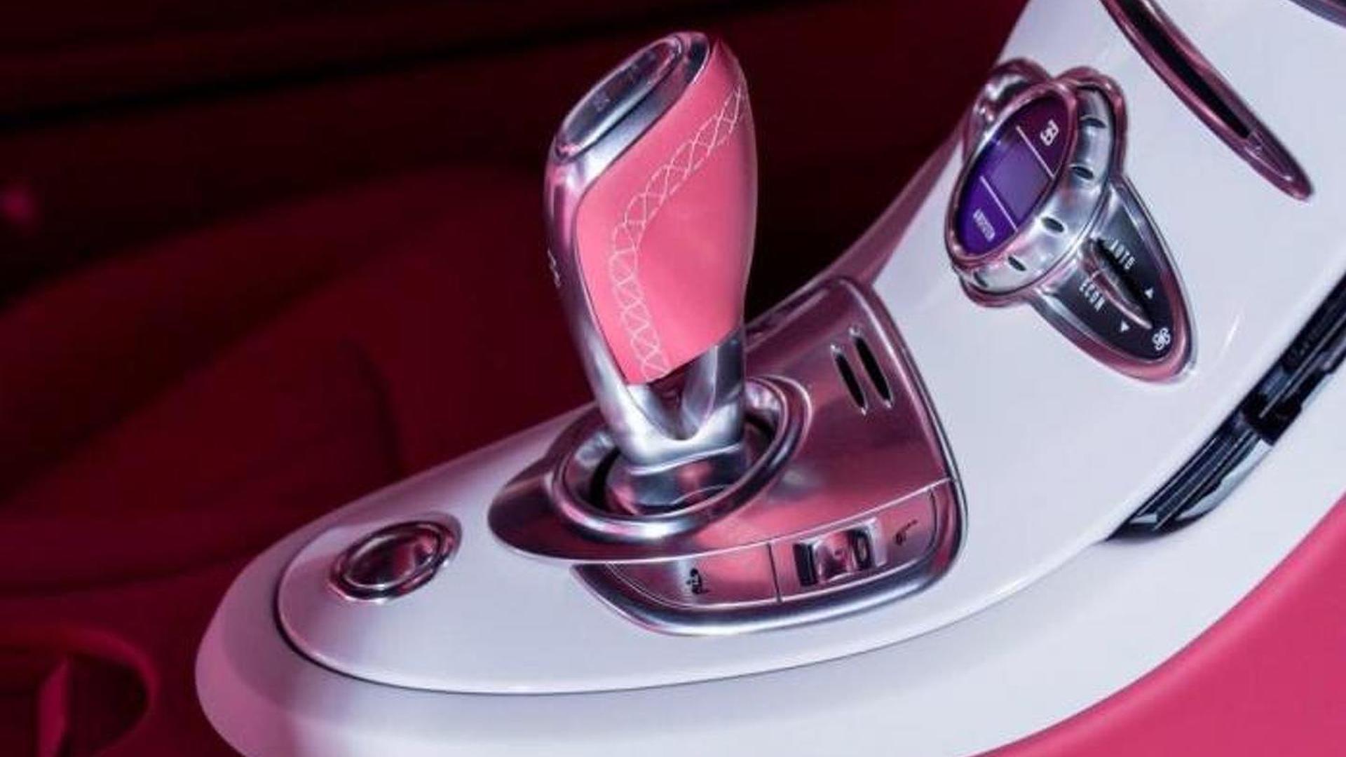 Селектор КПП Bugatti Veyron Grand Sport Vitesse Cristal