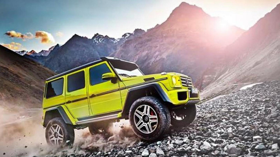 Mercedes-Benz G 500 4×4² first image released