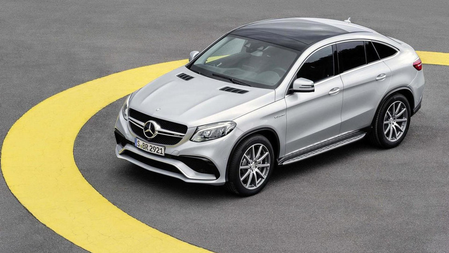 Mercedes-AMG GLE63 S Coupe unveiled with 577 bhp