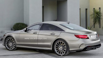 Third generation Mercedes-Benz CLS render