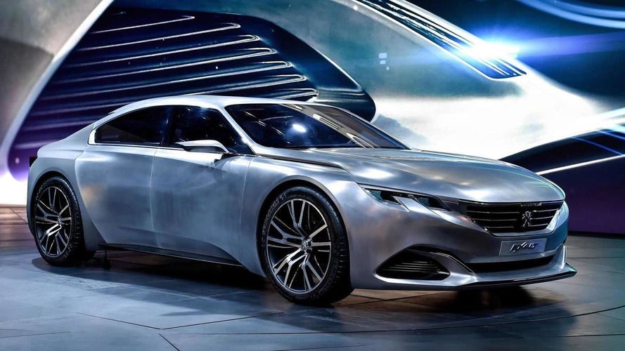 Updated Peugeot Exalt concept beautifies Paris Motor Show