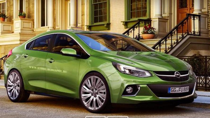 New Opel Ampera rendered based on Chevrolet Volt