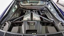 Santorini Blue Audi R8 V10