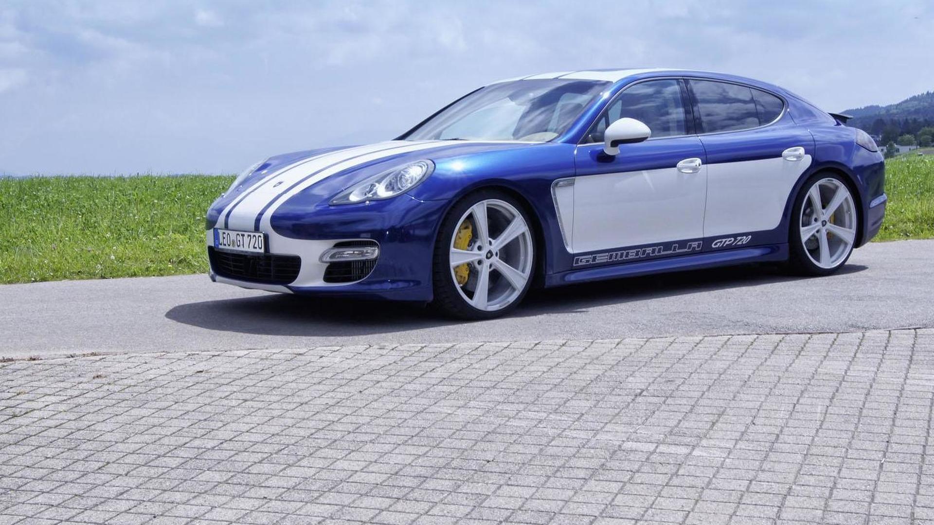Новая Porsche Panamera GTP 720. Тюнинг от Gemballa