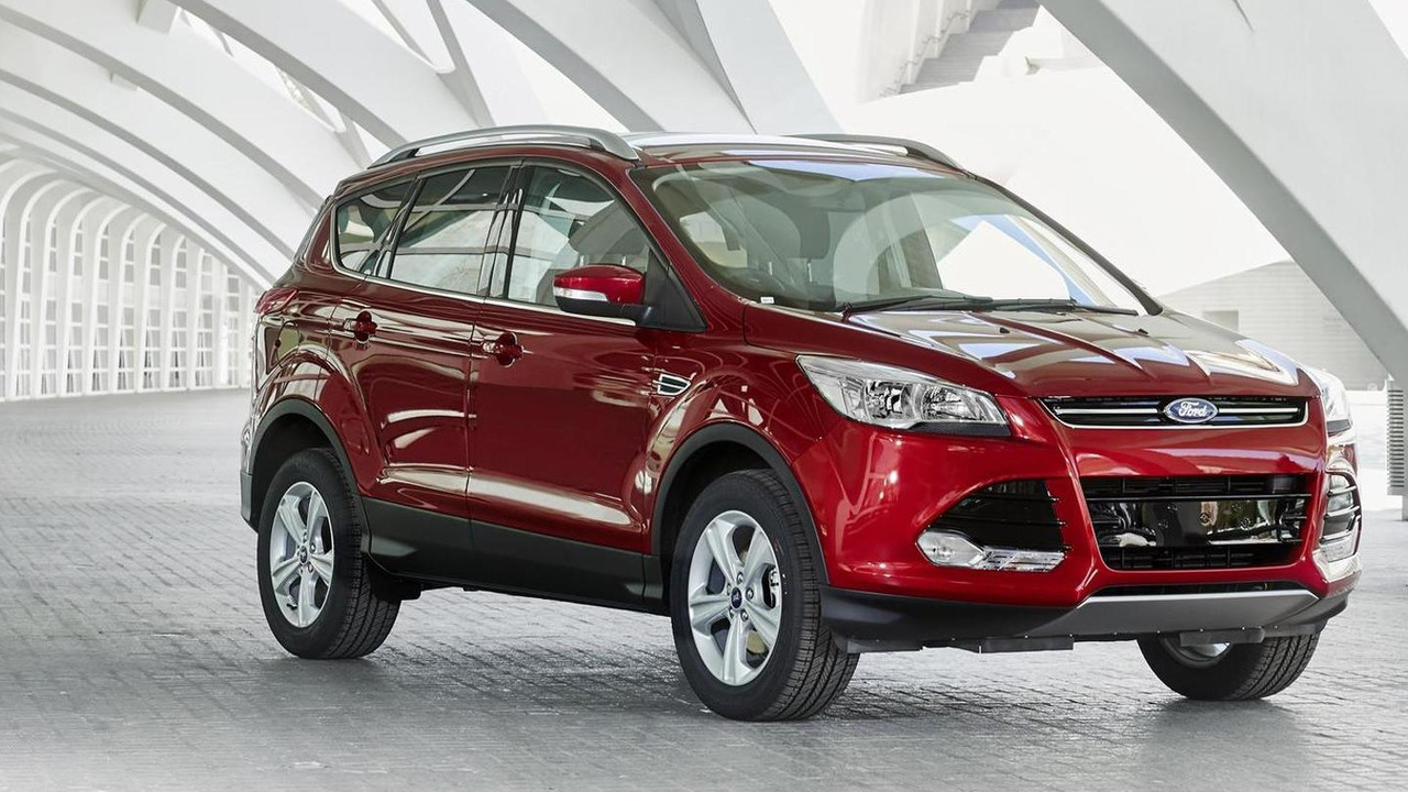 2015 Ford Kuga (UK-spec)