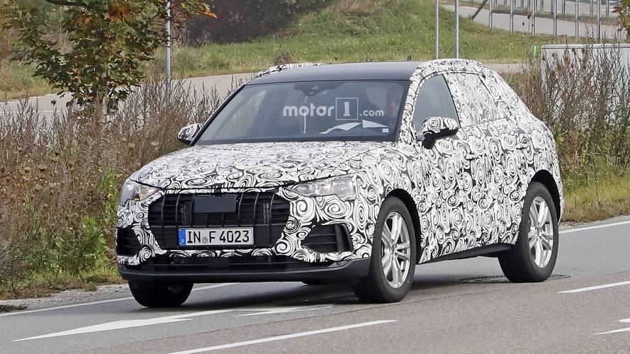 2019 Audi Q3 Spotted Up Close With Full Camo Attire