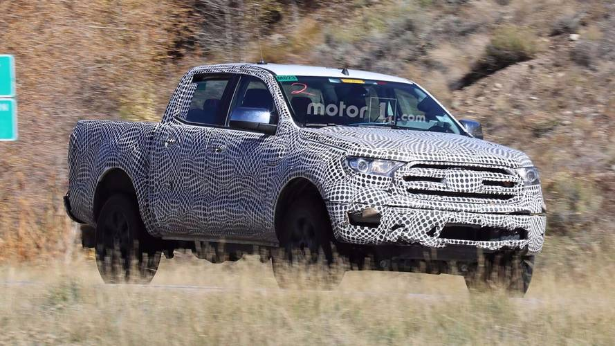 2019 Ford Ranger Spied Up Close And Personal