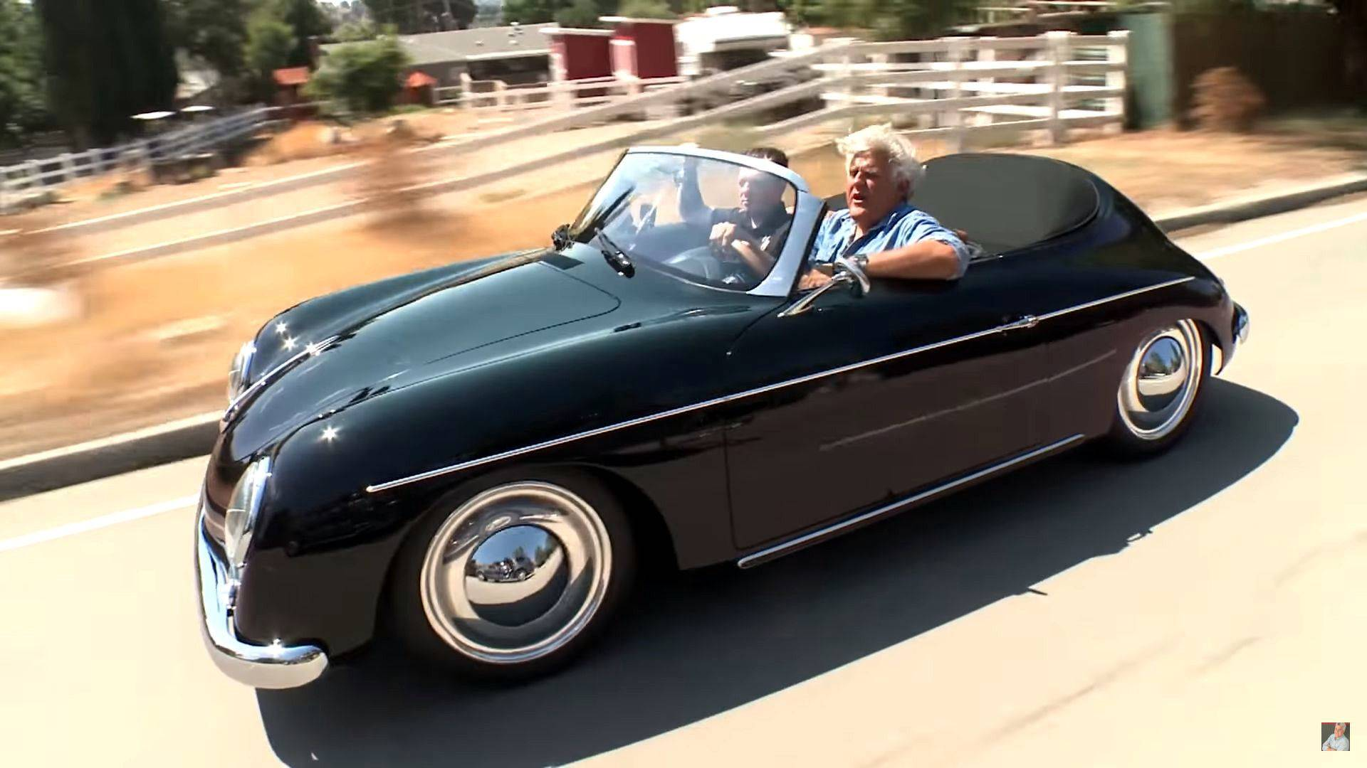 West Coast Customs Cars For Sale >> Porsche Cayman Does Its Best 356 Impression In Jay Leno's Garage