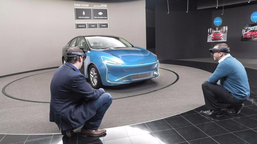 Ford Microsoft HoloLens
