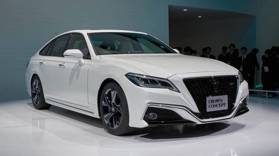 Next-Gen Toyota Crown Previewed Via Tokyo Motor Show Concept [UPDATE]