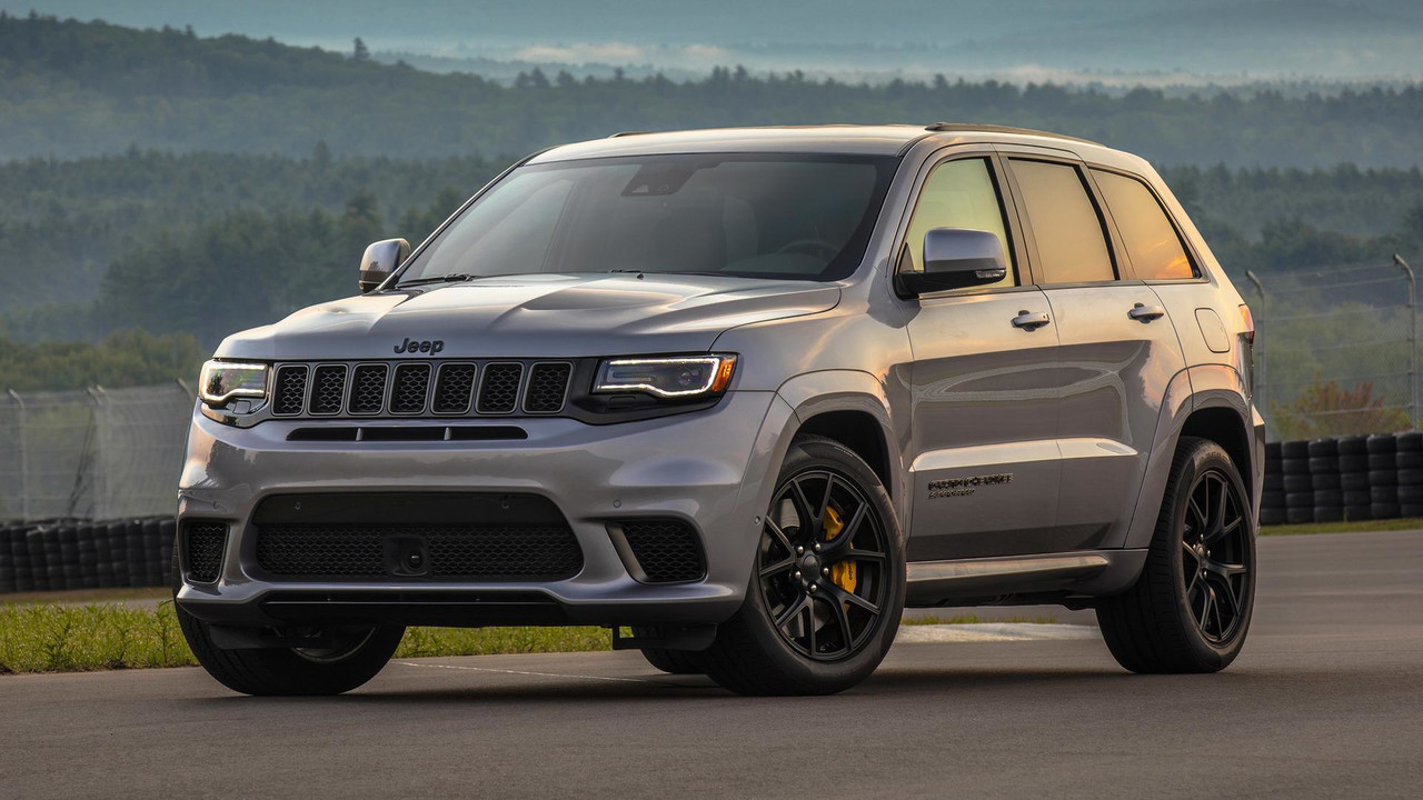 2018 jeep grand cherokee trackhawk first drive hellcat. Black Bedroom Furniture Sets. Home Design Ideas