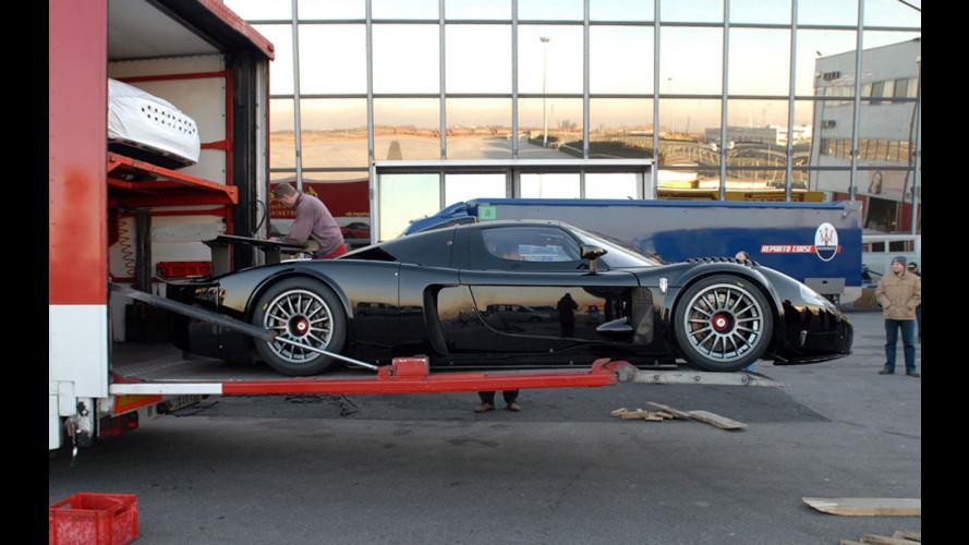 Consegnata la prima Maserati MC12 Corse