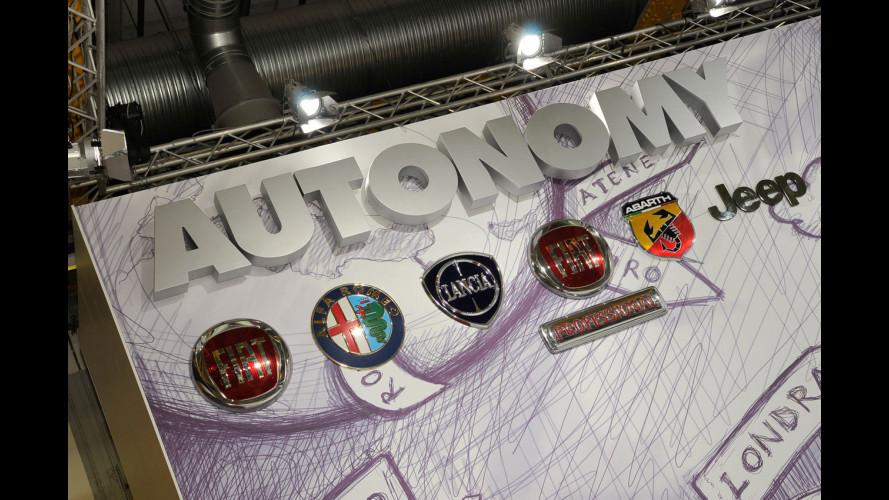 Il Programma Fiat Autonomy è al Motor Show