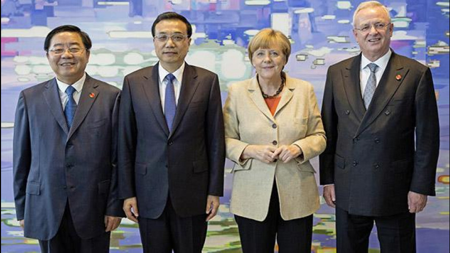 Volkswagen rafforza l'alleanza cinese