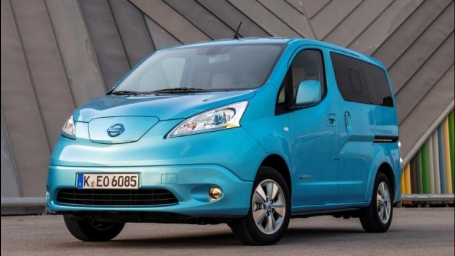 Nissan e-NV200 è il van elettrico più venduto in Europa e in Italia