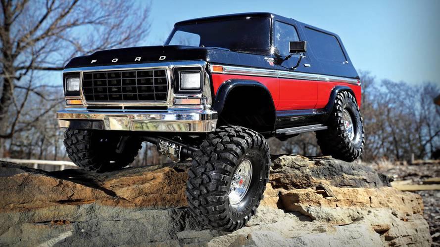 Traxxas Launches Retro R/C 1979 Ford Bronco Rock Crawler