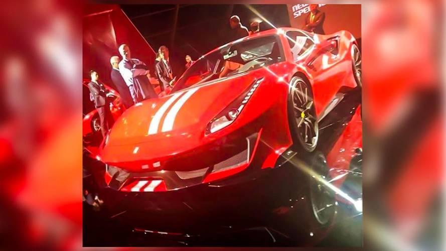 La Ferrari 488 Pista s'échappe sur internet !