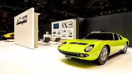 10 Photos Polo Storico Restored Lamborghini Miura And Countach