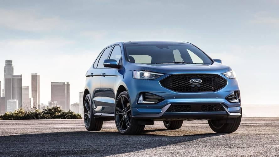 Ford Edge Titanium y ST 2018