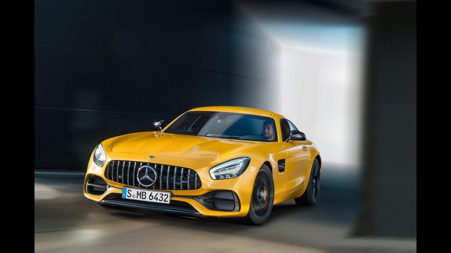 Mercedes-AMG GT Coupé, è tempo di restyling
