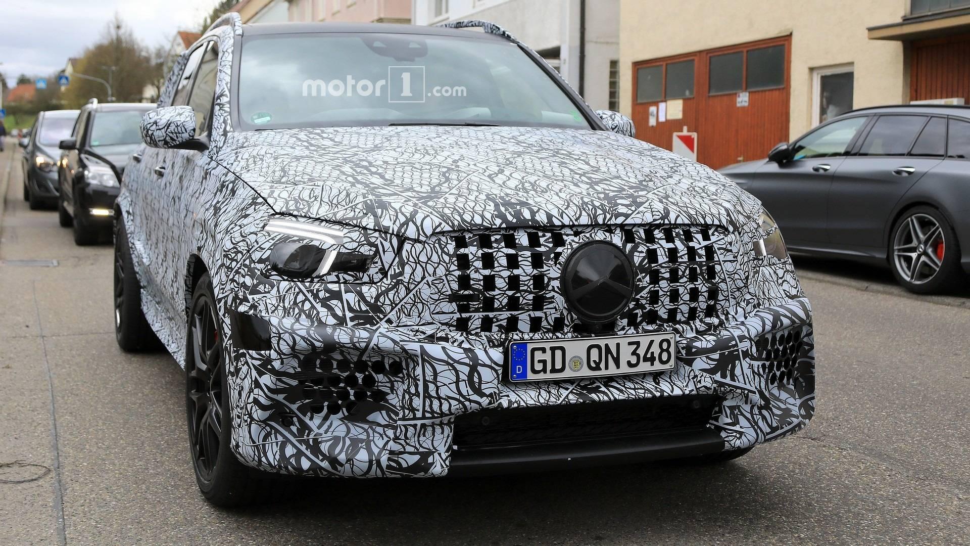 2018 - [Mercedes] GLE II ( ML IV ) - Page 3 2020-mercedes-amg-gle63-spy-photo