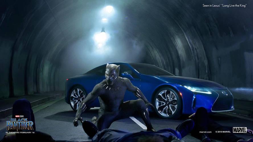 Lexus Black Panther Super Bowl Commercial