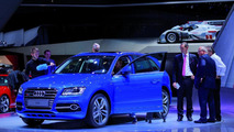 Audi SQ5 TDI exclusive concept live in Paris 27.09.2012