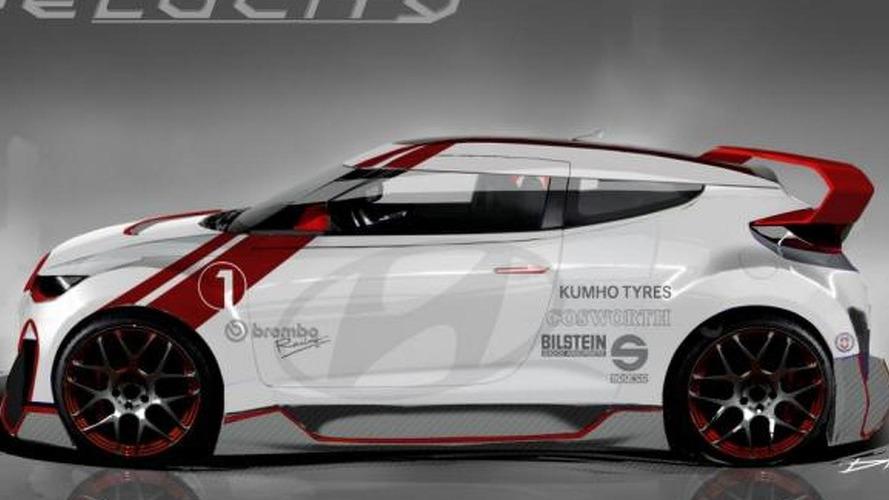 Hyundai Veloster Velocity concept heading to SEMA [video]