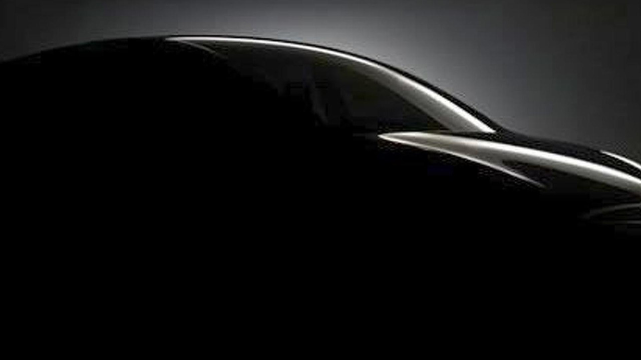 Tesla Model X Crossover teaser image - enhanced