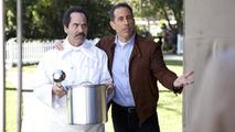 Jerry Seinfeld, Alien, Acura NSX Super Bowl commercial screenshot, 1053, 30.01.2012