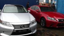 2013 Lexus ES caught undisguised